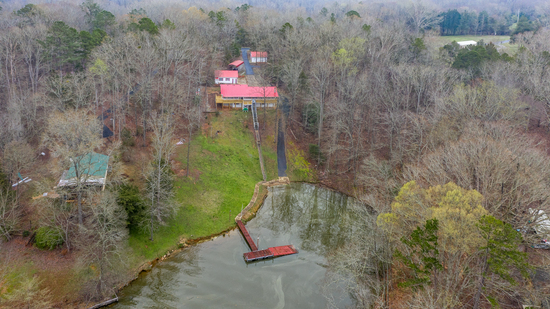 Absolute Auction:  Docked Lake Secession Home