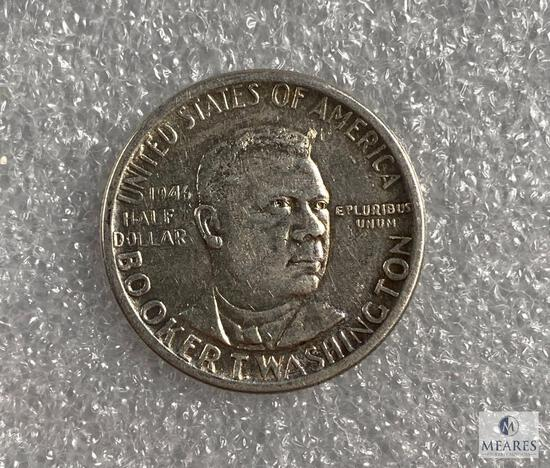 1946 Booker T Washington commemorative half dollar