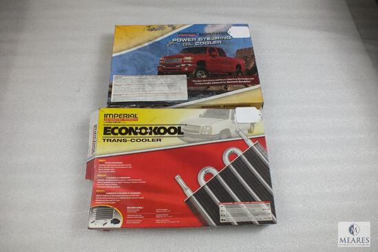 Lot of (2) Imperial Automotive Econokool Trans-Cooler