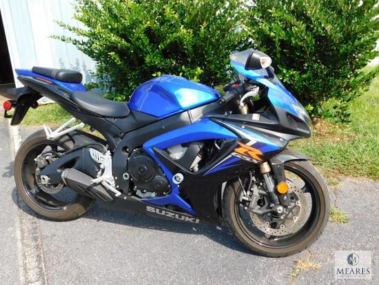 2007 Suzuki GSX-R600 Motorcycle