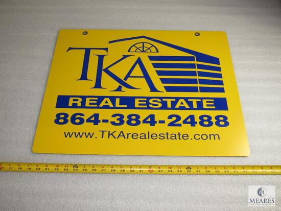 TKA Real Estate advertising sign - Todd Kohlhepp and Associates