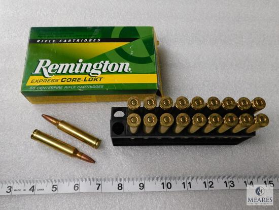 20 Rounds Remington Express Ammo .300 Win Mag Grain Core-Lokt PSP