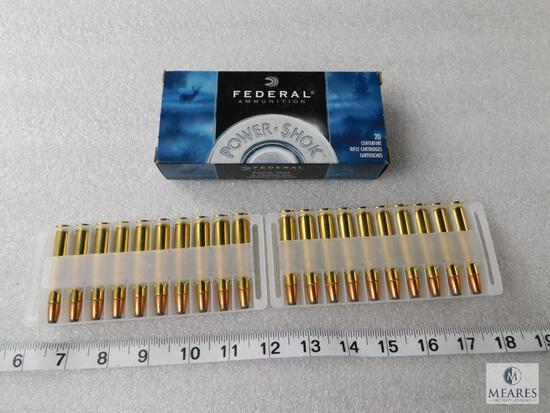 20 Rounds Federal Power-Shok 30-30 Win Ammo 150 Grain Soft Point FN