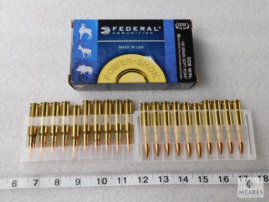 20 Rounds Federal Power-Shok .308 Win Ammo 150 Grain Soft Point