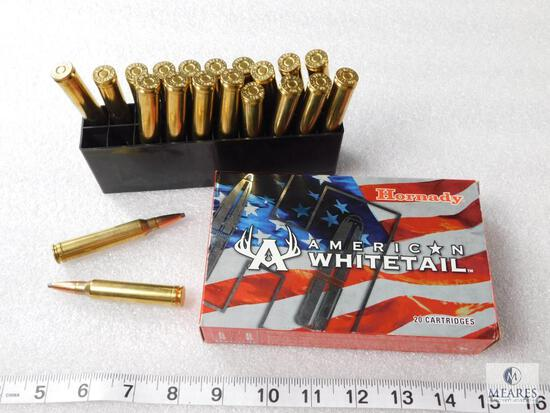 20 Rounds Hornady American Whitetail .300 Win Mag Ammo 150 Grain InterLock