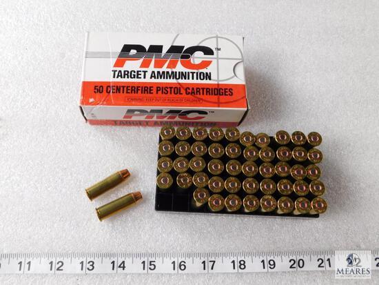 50 Rounds PMC Target Ammunition .44 REM Mag 240 Grain TCSP