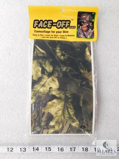 New Pack Face-Off Cam Camouflage for your Skin like Fake Tattoo