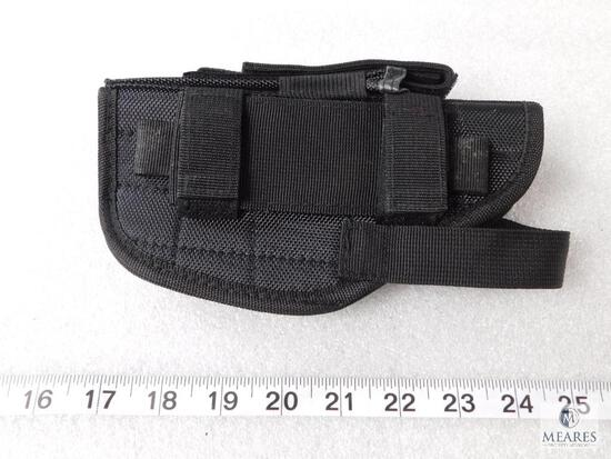 New tactical right hand hip holster fits Glock 17, 19, 22, 23 Beretta 92, 96 and similar autos
