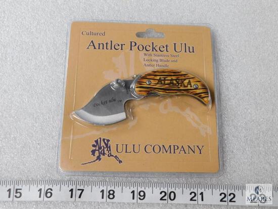 New Alaskan Antler Ulu pocket folder