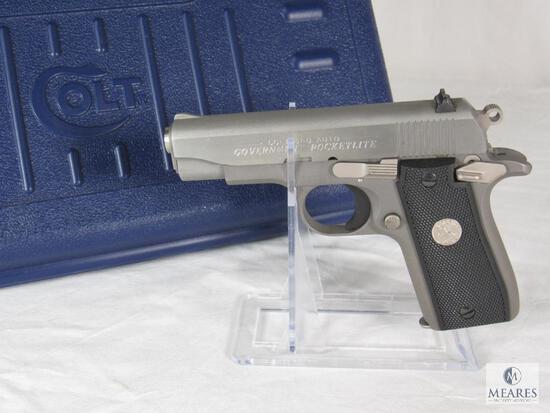 Colt Government Pocketlite .380 Auto Semi-Auto Pistol