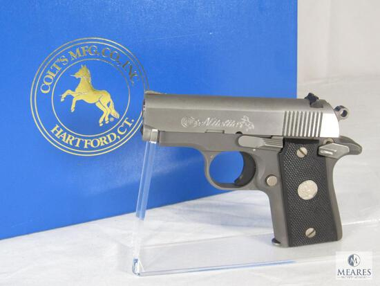 Colt Nitelite .380 Auto Semi-Auto Pistol RARE factory Night Sights
