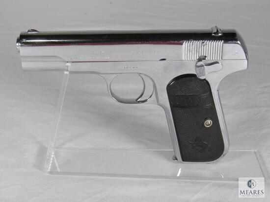 Colt 1908 Hammerless Pocket .380 Caliber Semi-Auto Pistol