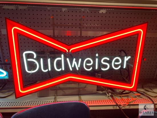 Budweiser Flashing Neon Sign