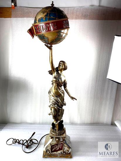 Vintage 1976 Schlitz Bar Lamp