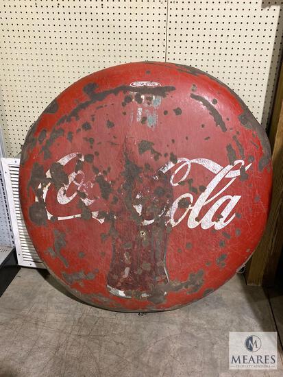 Vintage Coca-Cola Advertising Button
