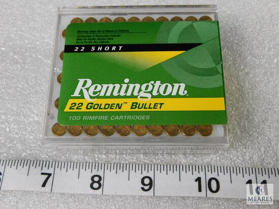 100 rounds Remington .22 short high velocity ammo