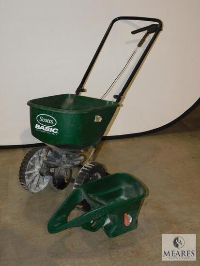 Scotts Basic Seeder and hand-held Seeder