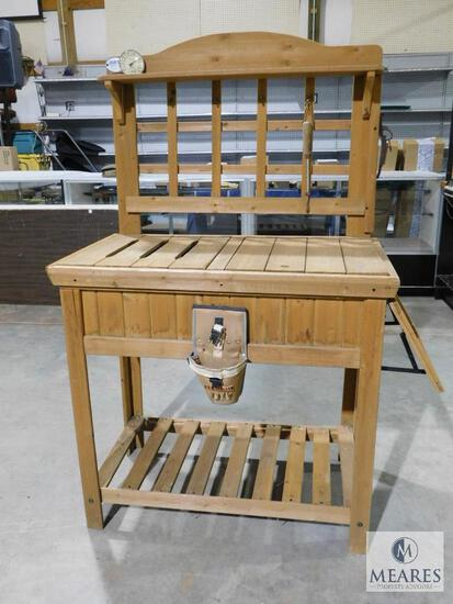 Leisure Time Products Cedar Wood Garden Bench
