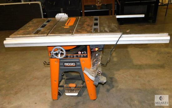 "Ridgid TS3650 10"" Table Saw 1.5 HP Motor"