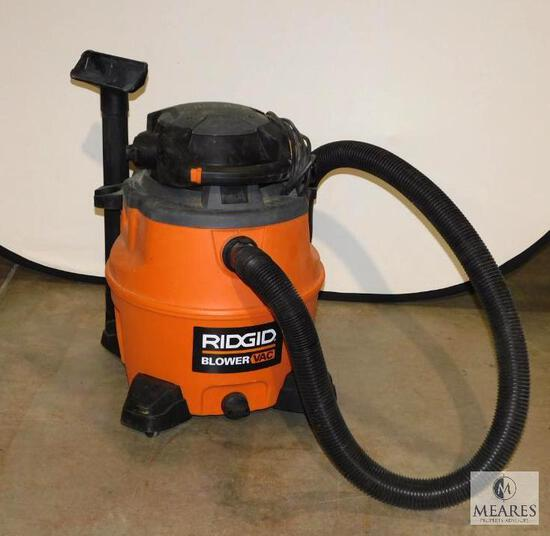 Ridgid Shop Blower / Vac 16 Gallon with Attachments