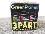 Unused H.I.T. Green Planet 3 Part Nutrient System - Grown, Micro, Bloom