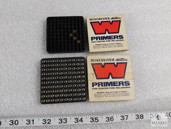 Lot 100 Winchester Large Rifle No. 8-1/2-120 Primers + (4) No. 6-1/2-116