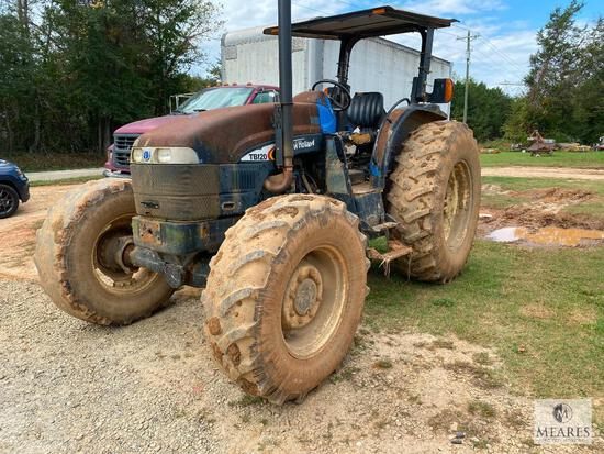 2008 New Holland TB120 Four-wheel Drive Tractor