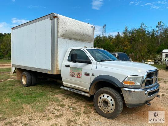 2011 Dodge Ram 5500 Box Truck with Mickey Body - Cummins Engine
