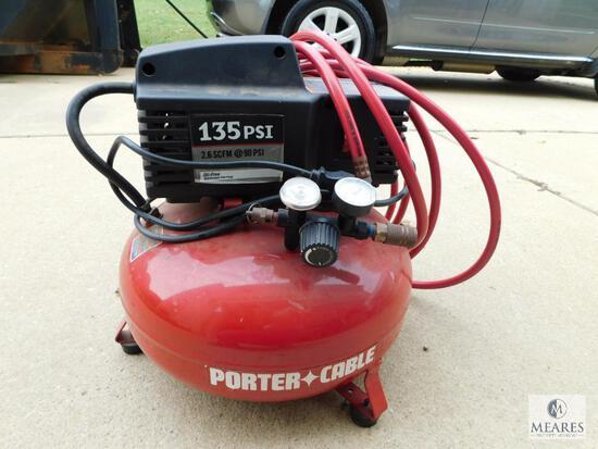 Porter-Cable 6 Gallon 135 PSI Portable Electric Pancake Air Compressor