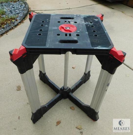 Husky Portable Folding Work Table