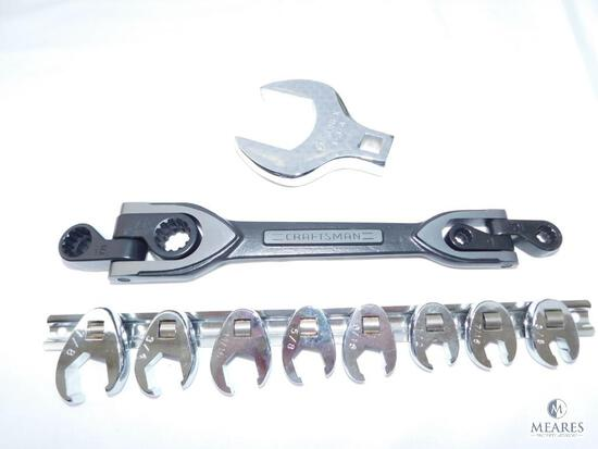 Craftsman Wrench and Assorted Open End Wrenches