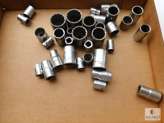 Lot of Assorted Craftsman Sockets