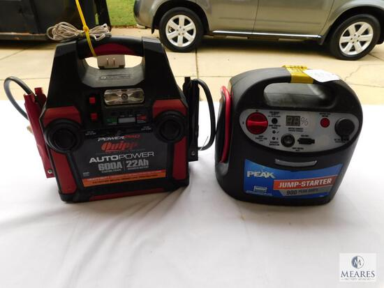 Peak Jump Starter and Power Pro Auto Power Booster