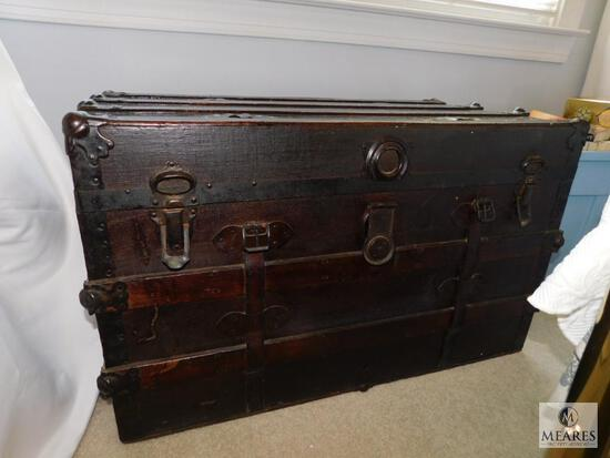 Antique Steamer Trunk - NO SHIPPING