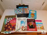 Lot of Assorted Art Books, Greeting Cards and Origami Kit