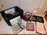 Large Lot of Assorted Art & Scrapbooking Supplies