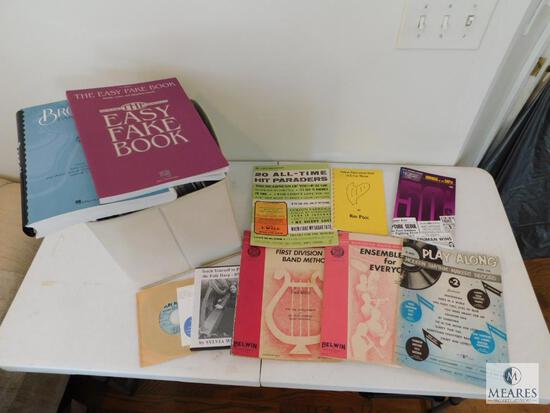 Large Lot of Music Books