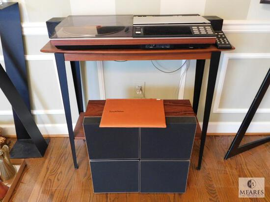 Bang & Olufsen of Denmark BEOCENTER 7000 with Remote, Table and Speakers