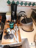 Lot of Knife Holder, Coffee Carafe, Cold Brew Maker, Juicer and more
