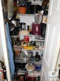 Pantry Contents - Cookware, Kitchen Appliances, and More