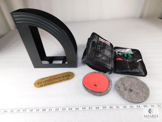 Fencing Repair Kit - Handles, Pads, Tools