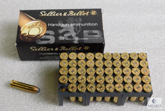 50 rounds S&B .357 magnum ammo, 158 grain jacketed soft point