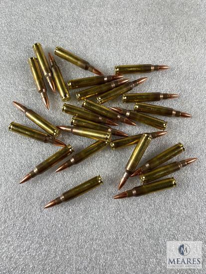 25 Rounds New Hornady 5.56 Ammo. 55 Grain FMJ.