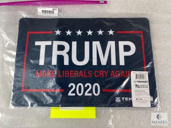 New Trump Gun Cleaning Mat. Making Liberals Cry Again 2020.