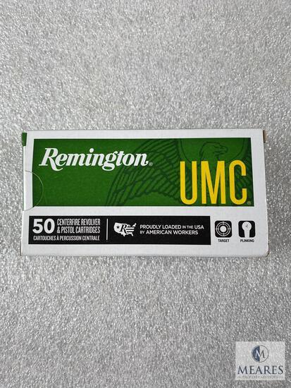 50 Rounds Remington 9mm Ammo. 115 Grain FMJ.