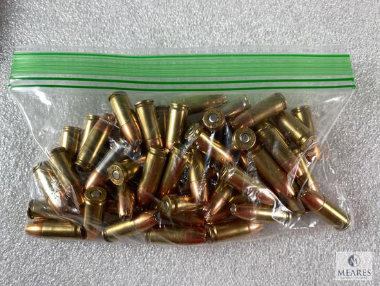 50 Rounds of Georgia Arms 147-grain Hollowpoint 9mm ammunition