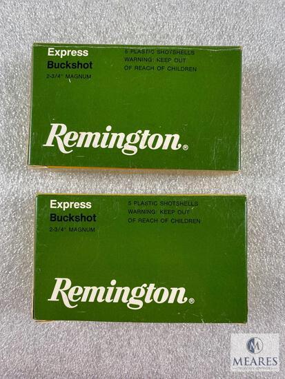 """10 Rounds of Remington Express Buckshot - 2 3/4"""" Magnum - 00 Buck 12 Pellets"""