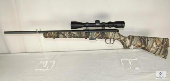 Savage 93R17 .17 HMR Bolt Action Rifle with Bushnell Scope