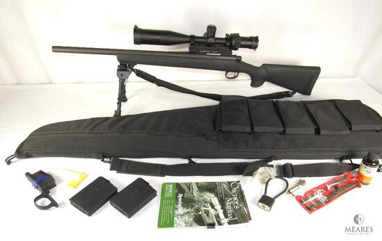 Remington 700 TACTICAL .308 WIN Bolt Action Rifle w/ Leatherwood Hi-Lux Scope & Accessories