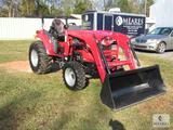 2020 Mahindra 1635 Shuttle Front End Loader Tractor ONLY 4.6 Hours!
